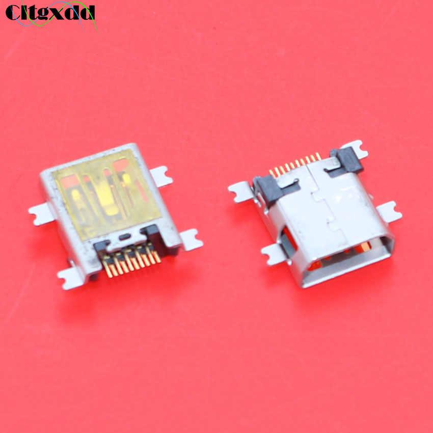 Cltgxdd 1 ~ 100 шт. Mini-usb разъем, V3 порт usb jack 10pin гнездо для CoolPad N900 E270 D508 W700 F600 F800 D550