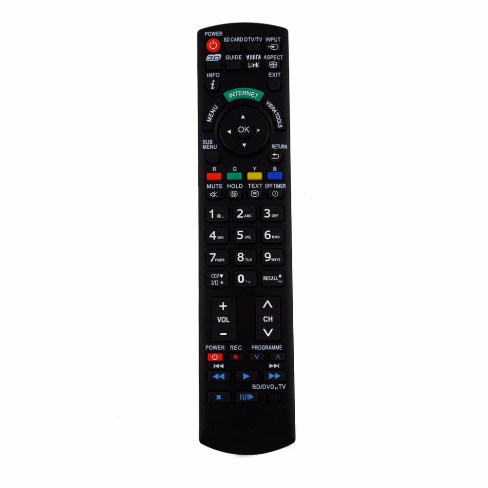 High Quality Replacement Remote Control For Panasonic 3D TV
