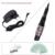 Grado superior KX-112 Kit Cosmético Profesional Maquillaje Permanente de Cejas Tatuaje Máquina de La Pluma Negro con fuente de Alimentación para Delineador de Labios