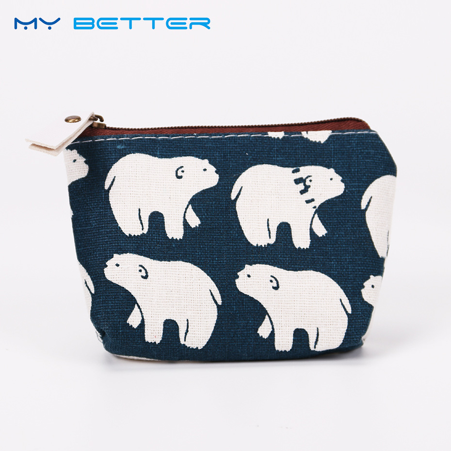Excellent Quality New Style Coin Purses Ladies Wallet Small Zipper Pouch Cute Portable Key Coin Purse Makeup Bag Gift 2017new coin purses wallet ladies 3d printing cats dogs animal big face fashion cute small zipper bag for women mini coin purse