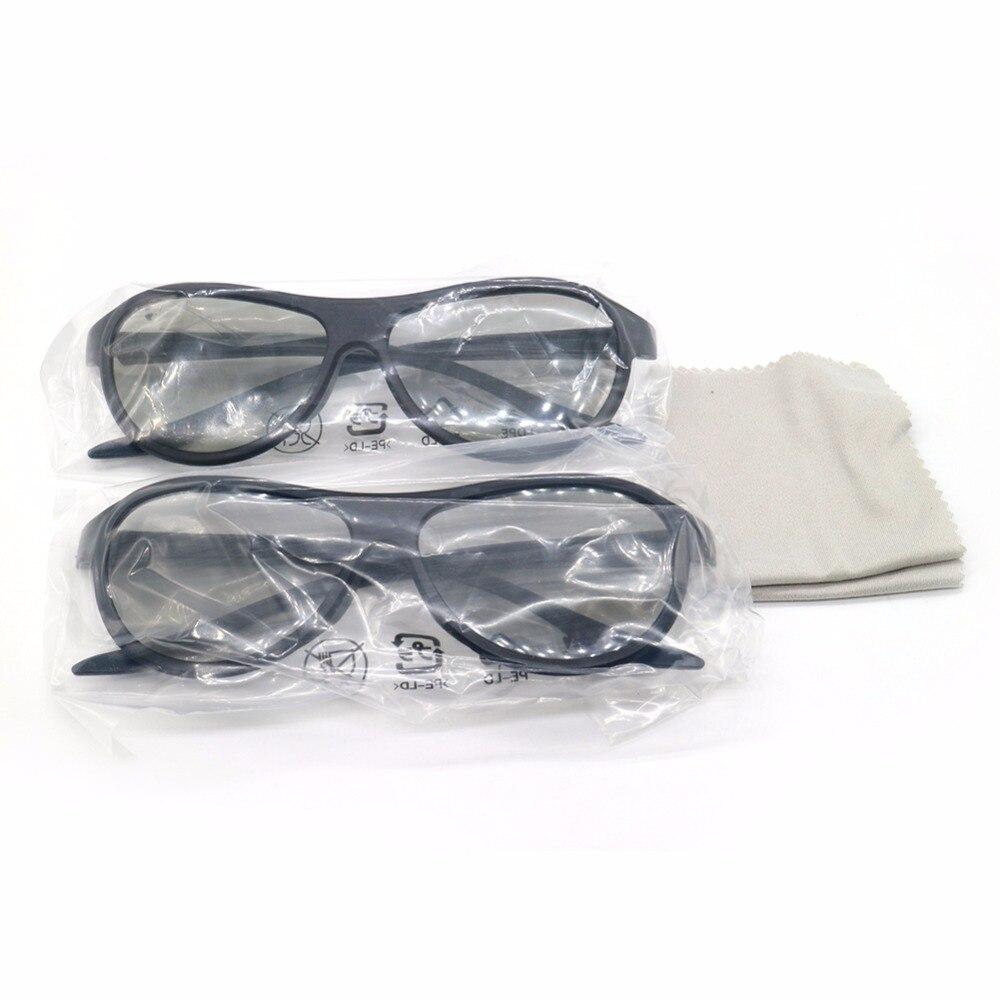 2 AG F310 pçs caixa Polarizados Passivos Óculos 3D Para LG sony Panasonic  Polarizada LCD LED tv e para LG Cinema 3D e REALD cinema em Óculos 3D Óculos  de ... 2d35cac081