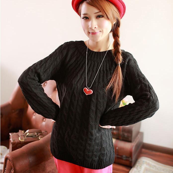 fddac6baf039 9 цветов Для женщин свитер Свободные повседневные Модные пуловеры ...