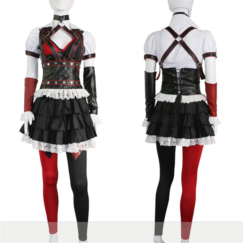 Batman Harley Quinn Dress Another Version Cosplay Costumes , Perfect Custom for You !