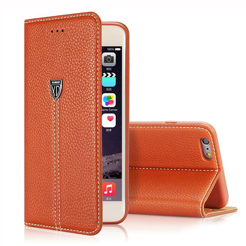 for iphone 6s Case Luxury Leather Flip Cases for Apple iphone 7 Plus 5 5S Retro