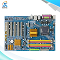 Para gigabyte ga-p43-es3g original usado desktop motherboard p43 p43-es3g para intel socket lga 775 ddr2 atx à venda