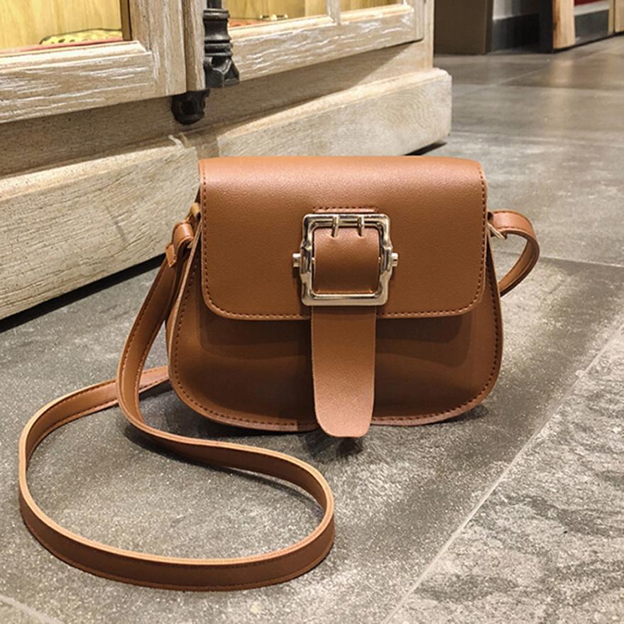 Для женщин простой ретро сумка Обложка сумка женская сплошной цвет двойной иглой ремень небольшой площади сумка # f