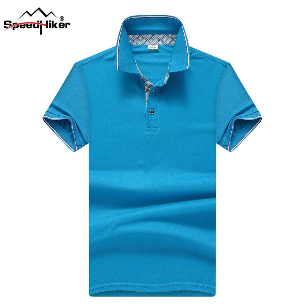 Рубашка поло мужская однотонная 2018 Модная брендовая рубашка с коротким рукавом приталенная рубашка мужские рубашки поло, повседневный сти...