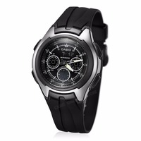 CASIO Dual Display Wrist Watch Men AQ 163W 1B1 Waterproof LED Sports Watch Relogio Masculino Table