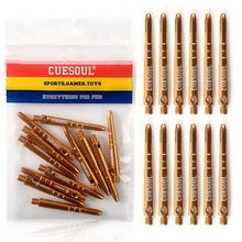 CUESOUL DIAMOND 53mm 2BA Aluminium Dart Shafts - Medium Set of 12
