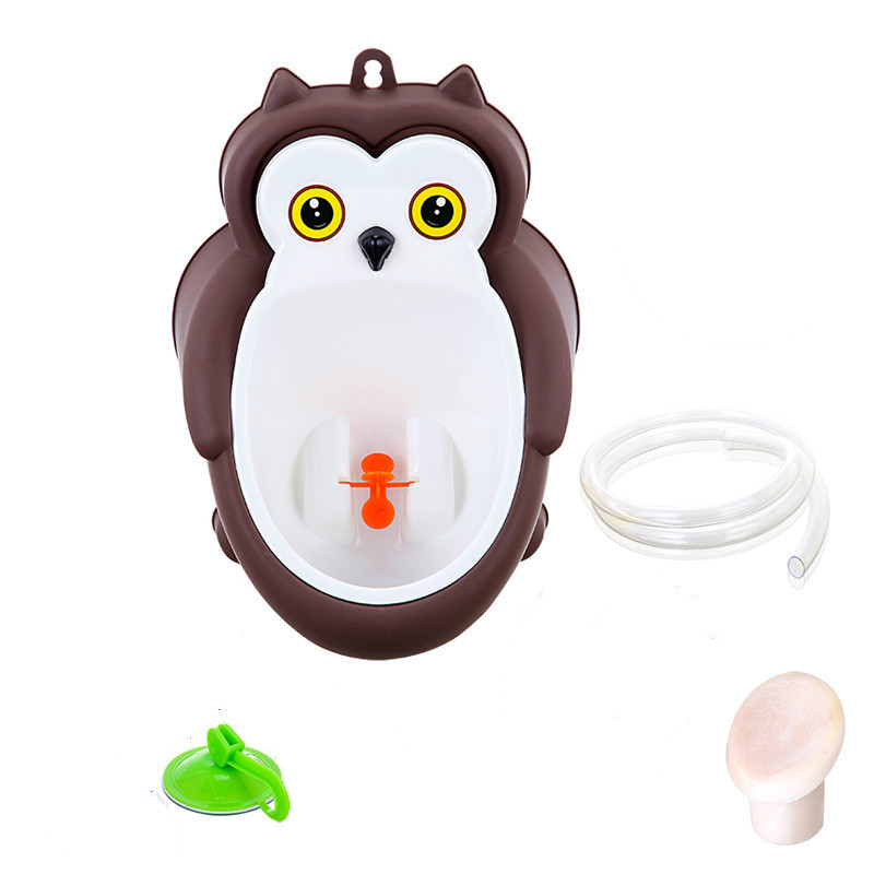 Baby boy Urinal Pee Frog and Owl baby toilet training Colored Children Potty Baby Urine Groove PP hooked Urinal for kids (9)