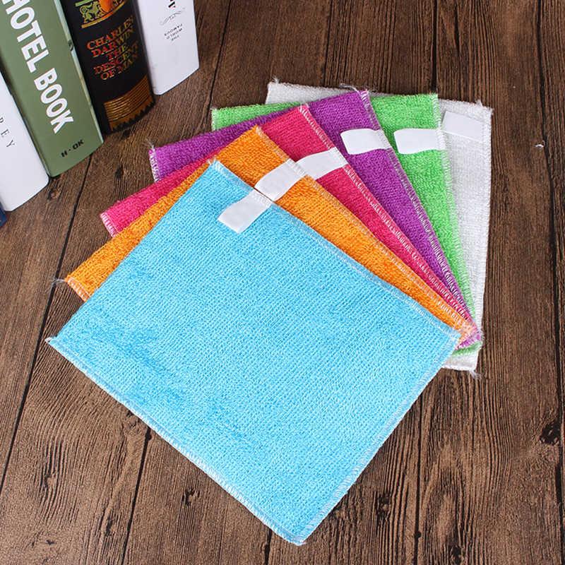 5 قطعة المطبخ مكافحة الشحوم wipping الخرق كفاءة الخيزران الألياف تنظيف الملابس غسل المنزل طبق أدوات تنظيف متعددة الوظائف