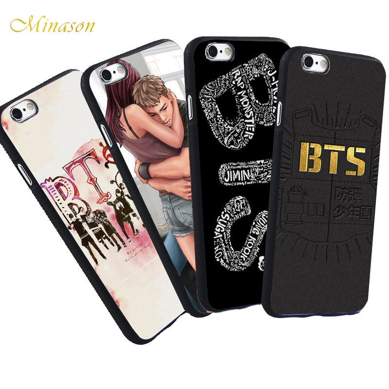 Kpop Rap Bangtan Boys Bts Love Yourself Bt21 Soft Tpu Phone Case Cover For Iphone 7 8 6 6s Plus 5s Se X Xs Max Xr Coque Fundas Phone Bags & Cases Cellphones & Telecommunications