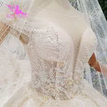 AIJINGYU Simple White Dress Gown Luxury Shop China Frocks engagement Ball Wear For Bride Online Sale Vintage Bridal Gowns