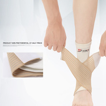 Sports protective gear, wound double pressure ankle, breathable ankle to protect the calf, exercise