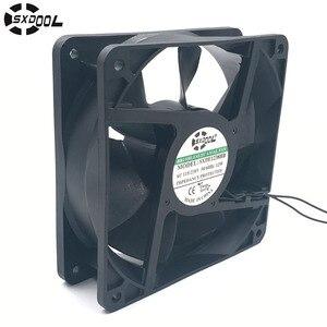 Image 1 - Ec motor cooling fan 220V 110V 230V 115V SXDOOL SXDE12038HB 120mm 12038 12V 3500RPM 147.6CFM axial cooler