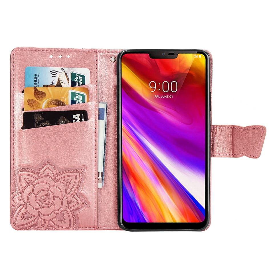 Luxury Case for LG K40 G7 Q8 V50 ThinQ Aristo 2 V3 K8 2018 K10 2018 - Բջջային հեռախոսի պարագաներ և պահեստամասեր - Լուսանկար 4