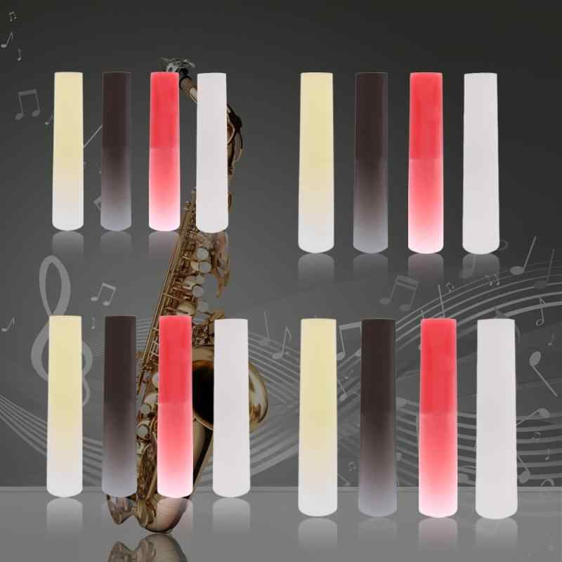 Żywica z tworzywa sztucznego saksofon saksofon trzciny części instrumentów dętych drewnianych akcesoria do klarnetu/sopran/Alto/saksofon tenorowy 4 kolory nowy
