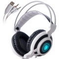Sades Arcmage 3.5mm Gaming Headset Headphones Over Ear Stereo Noise Isolating Earphones with Mic LED Lights for PC Gamer Laptop