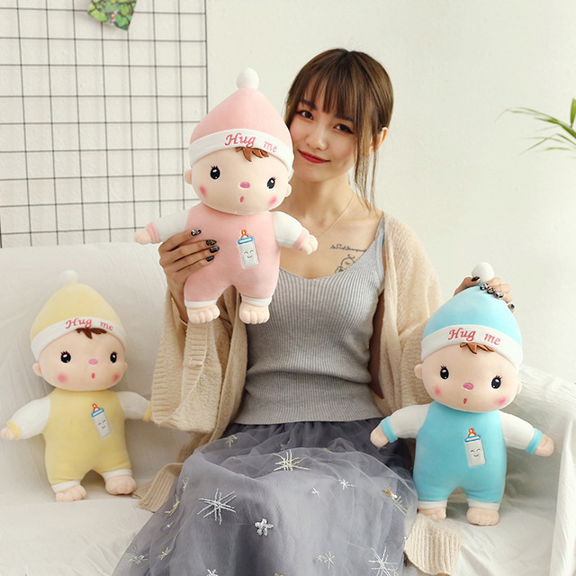 Fashion Casual Creative Bottle Stuffed & Plush Animals Mengbao Plush Toys Children Pillow Doll Home Decoration Holiday Gift Sale