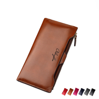 2016 New Leather Women Wallet Portable Multifunction Long Wallets Hot Female Change Purse Lady Coin Purses