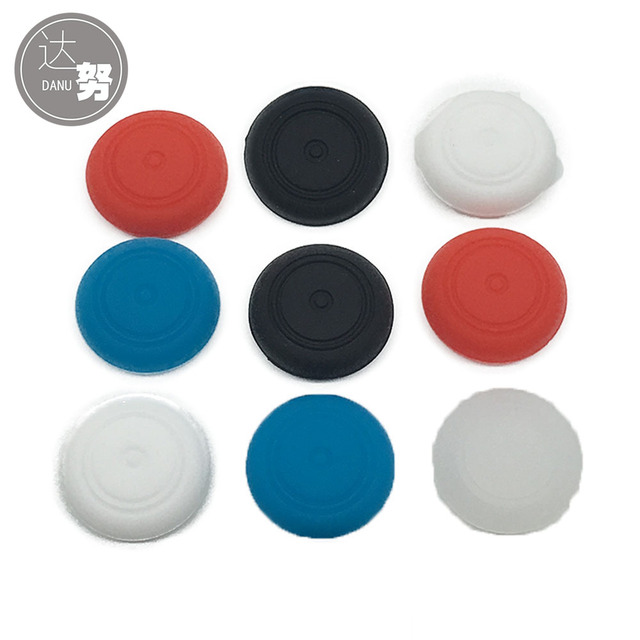 20PCS Silicone Thumb Stick Caps  for Nintendo Switch Controller Joystick Grips Game Accessories