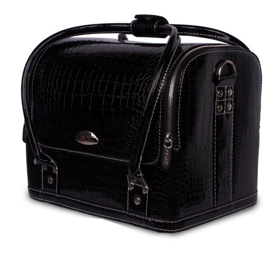 Makeup Case Professional Pro Beauty Luxury Leather Makeup Nail Cosmetic Salon Box Vanity Case