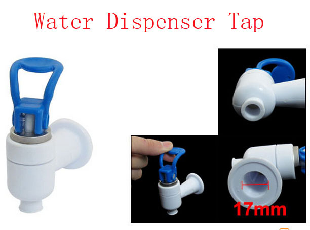 Blue hand push hot drink 9mm exit tap faucet for angel for Blue water parts piscine
