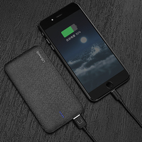 Power Bank For Samsung S8 Plus Mobile Phone Xiaomi USAMS Mosaic Ultra Slim 5000 10000mAh Powerbank