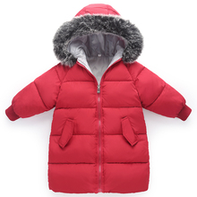 2018 new cotton baby child down jacket cotton winter children's clothing girls warm coat boys coat