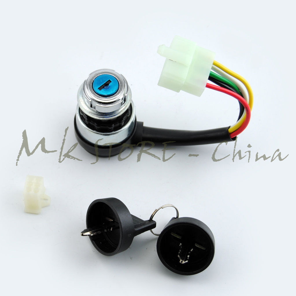 Atv Parts & Accessories Ignition Switch Key 5 Wire 110cc 125cc 150cc Pit Quad Dirt Bike Atv Buggy