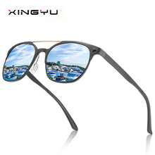 Polarized sunglasses for men and women All aluminum magnesium series Driving glasses Fishing  mirror