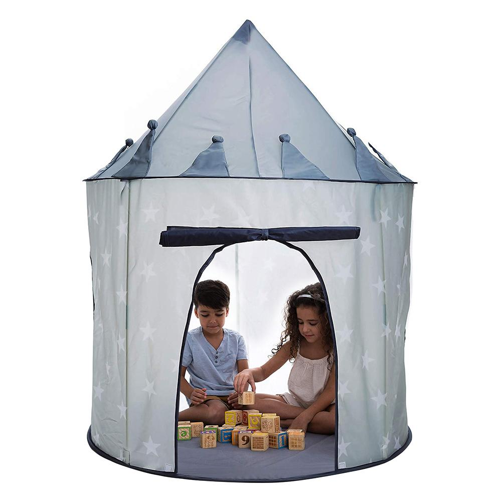 Foldable Indoor Children Kids Game Play Tent Yurt Castle Teepee Playhouse Toy Play Tent Baby Ball Pool For Children