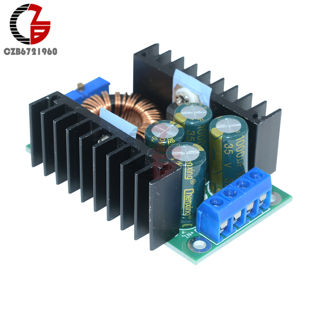 Xl4016 Dc 300w 9a Step Down Buck Converter Adjustable 5 40v To 12v 25w Voltage Circuit 2 Basiccircuit Power Transformer 12