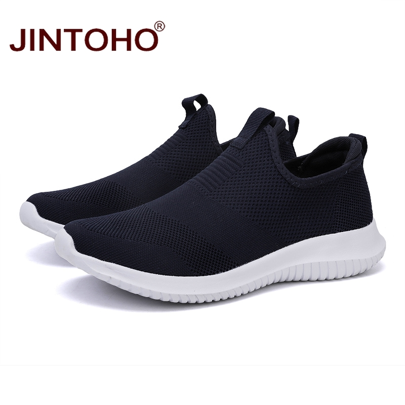 Image 2 - JINTOHO Summer Unisex Sneakers Shoes Slip On Casual Shoes For Men Brand Casual Men Sneakers Cheap Male Sneakers Casual LoafersMens Casual Shoes   -