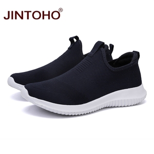 Image 2 - JINTOHO été unisexe baskets chaussures sans lacet chaussures décontractées pour hommes décontracté hommes baskets pas cher mâle baskets mocassins décontractés