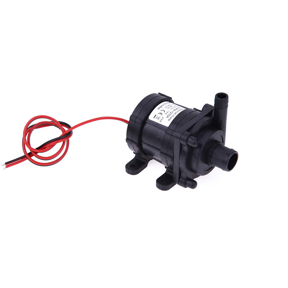 18W DC12V 6m 500L/H Ultra Quiet Brushless Motor Submersible Pool Water Pump Amphibious NG4S цена