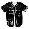 IMPRESIÓN de la LETRA Camiseta de Verano con Estilo con botones 3d Hip Hop hombre camisas tops camisa ropa moda casual tees trajes