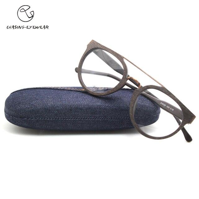 Chasing fashion brand designer eyeglasses frame women men  Pure handmade Acetate eye glasses unisex Free shipping CS1109
