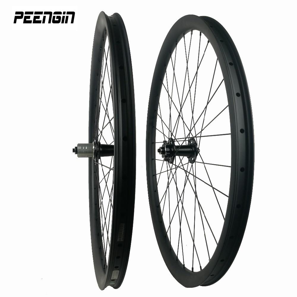 중국 탄소 바퀴 27.5er 비대칭 산 xc 바퀴 자전거 오프셋 림 33 더 나은 크기 설계 쉽게 장착 타이어