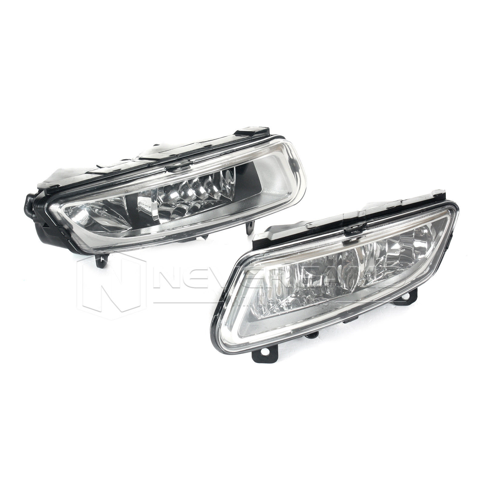 ФОТО For VW Polo MK8 Hatchback 6R 2010-2013 Front Bumper Lower Grille Grills Fog Lights Lamp Freeshipping D10
