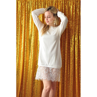 Champagne Sequin Fabric Photo Backdrop Spark Newborn Photography Background For Ceremony Baby Birthday And Party Custom