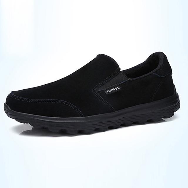 KAMEL Neue männer Casual Schuhe Leder Leichte Sets von Füße