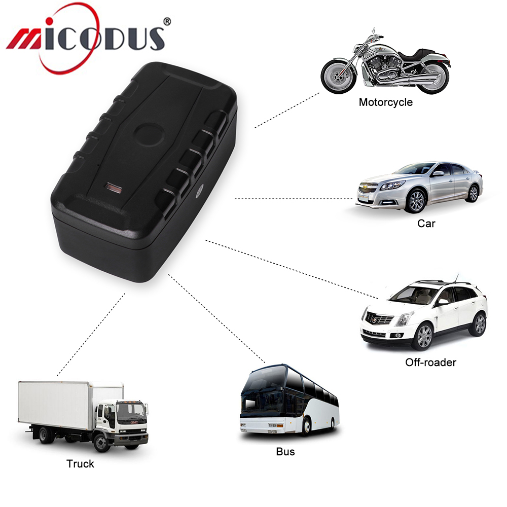 3G GPS Tracker <font><b>LK209C</b></font> 20000mAh Battery Car Vehicle Locator Waterproof Standby Time 240 Days Real Time Tracking Magnet Drop Alarm image