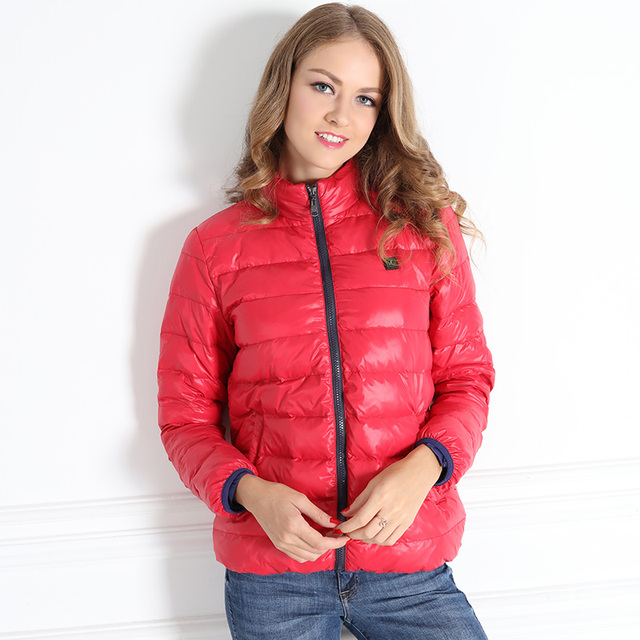 Down Clothes Ladies Heat Insulation Heat Wind Heat Preservation Polymer with UBS Battery