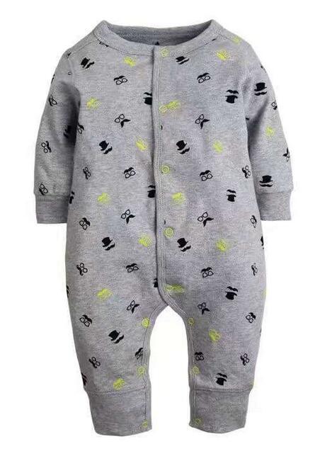 2018 baby's Baby meisje kleding lange mouw romper pasgeboren overalls - Babykleding - Foto 3