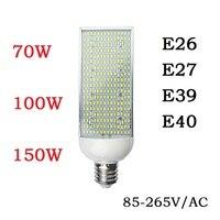 70W 100W 150W Energy Saving High Power Corn Bulbs E27 E26 E40 E39 Street Spot Lights