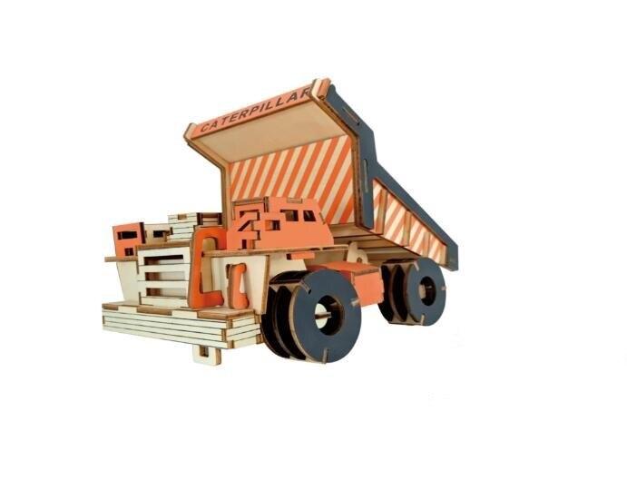 Моделирование огромный комбайны Модель 3d трехмерные деревянные головоломки игрушки для детей Diy ручной работы деревянные пазлы