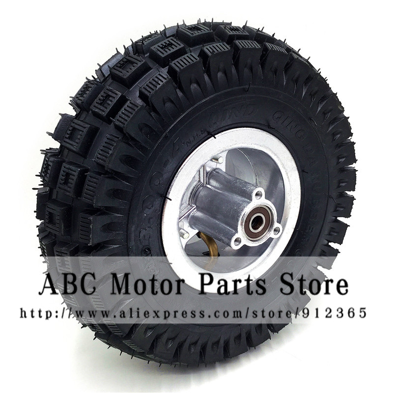 3.00 4 Electric Scooter Front Wheel with QIND tyre Alloy