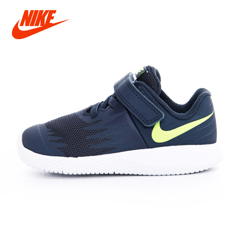 NIKE STAR RUNNER (TDV)) Boy Kids Sneakers Lightweight Sport Running Shoes Breathable Non Slip On Children Casual Sneakers nike кроссовки мужские nike md runner 2