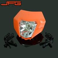 Motorcycle Universal Headlight Headlamp Street Fighter For KTM EXC EXCF SX XC XCW MX SMR SXS